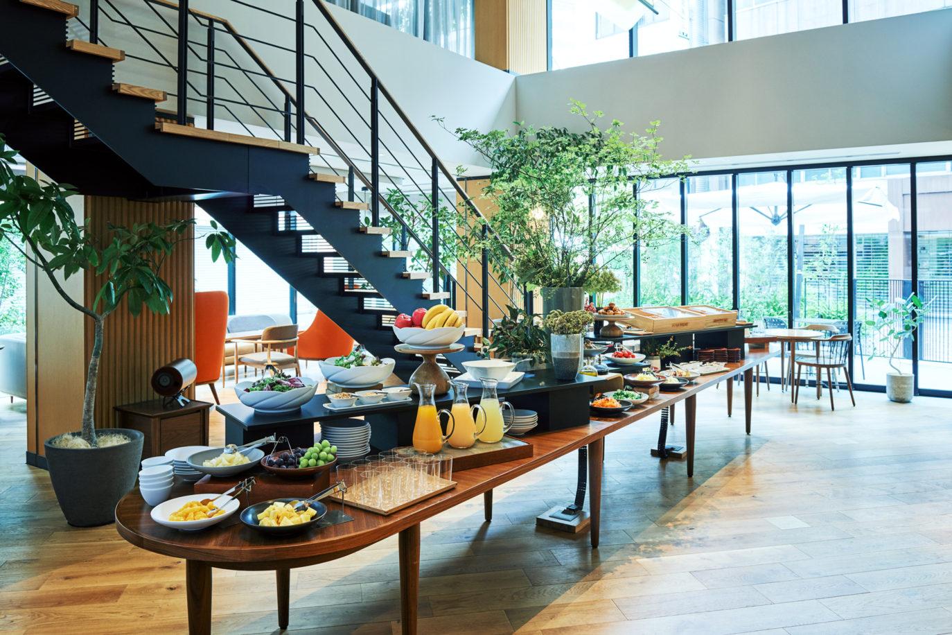 NOHGA HOTEL 朝食ビュッフェ スタイリングのイメージ
